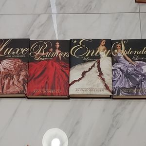 First Edition LUXE series books